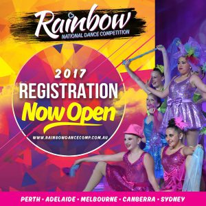RAINBOW DANCE arrives in Australia in 2017!